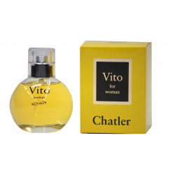Vito for woman eau de soigner 100 ml Chatler