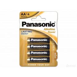 Baterie Panasonic Alkaline AA 4 szt.