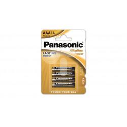 Baterie Panasonic Alkaline AAA 4 szt.