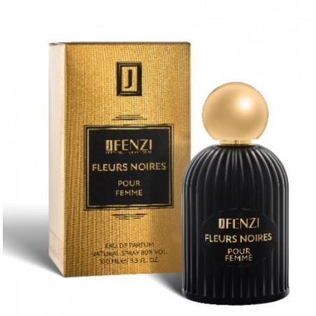 Fleurs Noires pour femme woda perfumowana damska 100 ml J Fenzi
